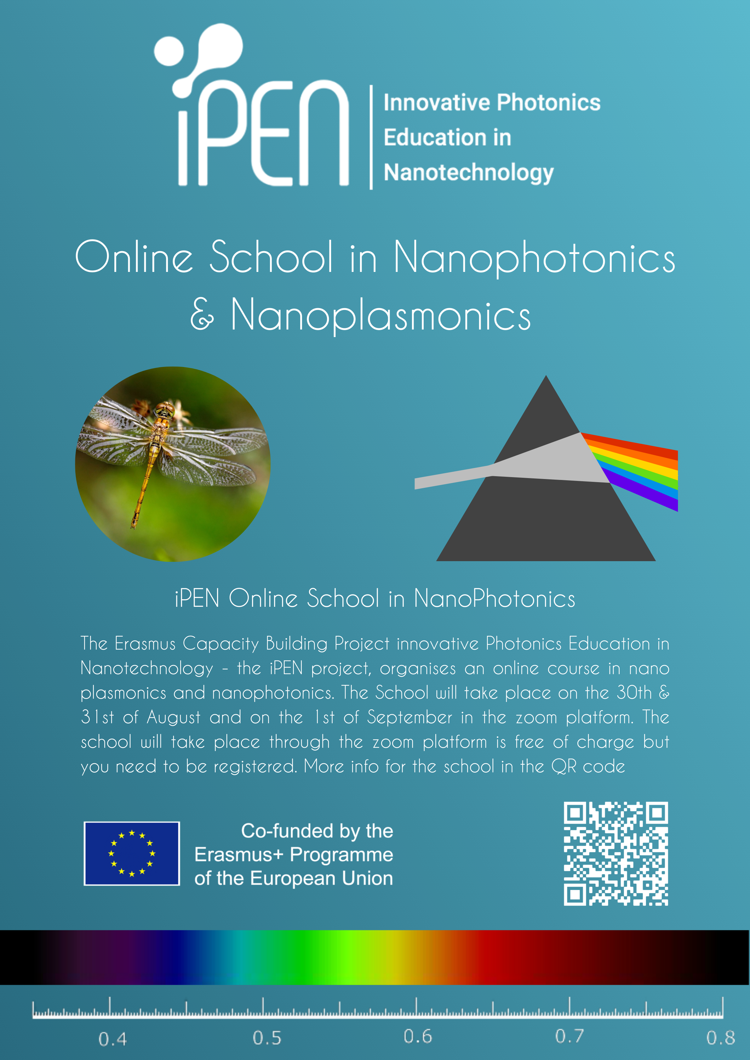 30/08 – 01/09/2021: Online School in Nanophotonics & Nanoplasmonics